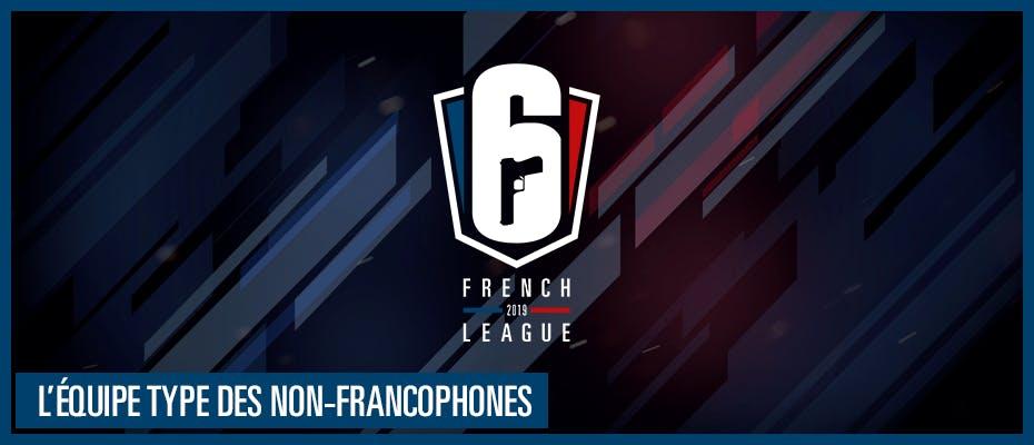 L'équipe type des non-francophones
