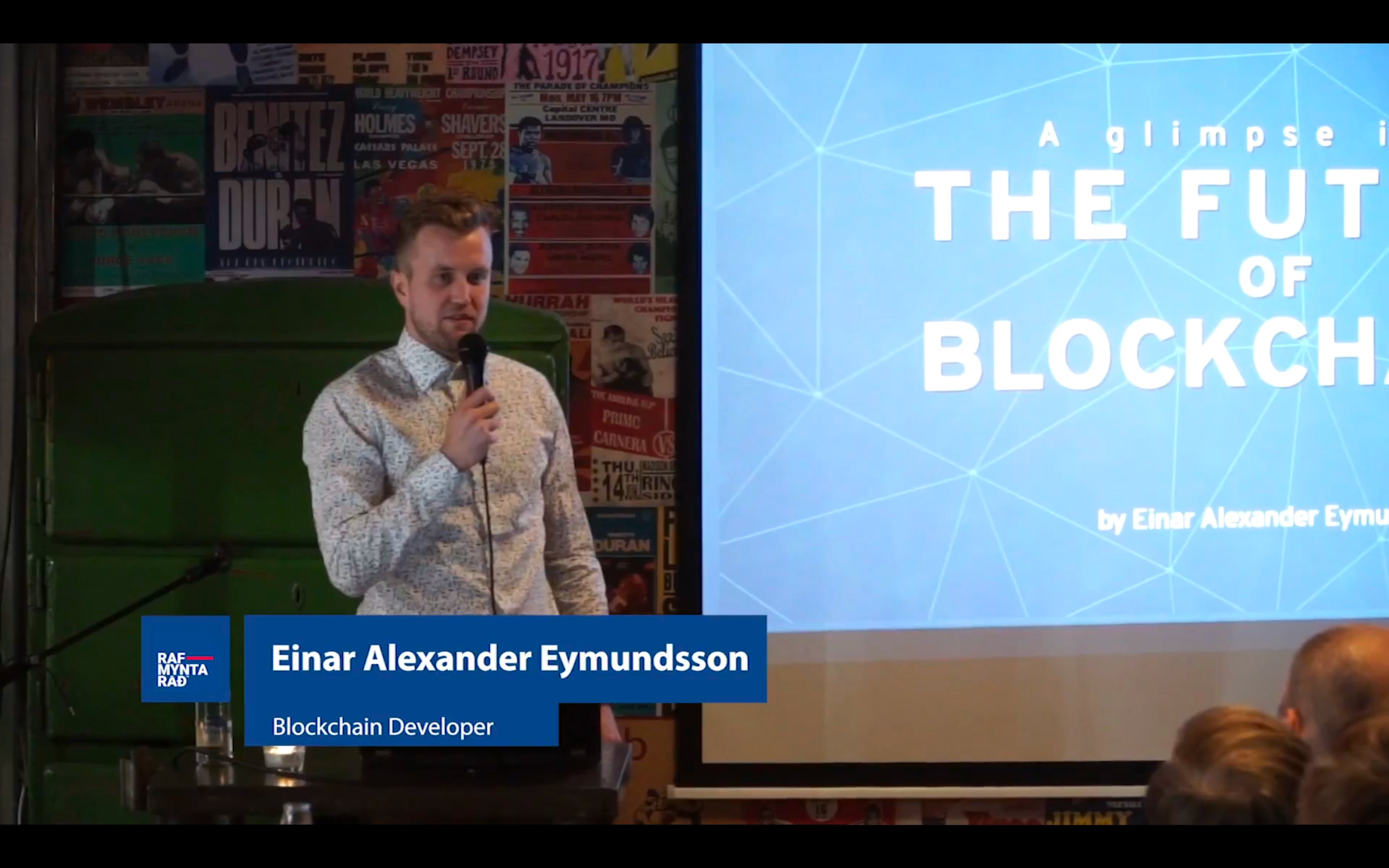 The Future of Blockchain - Einar Alexander Eymundsson