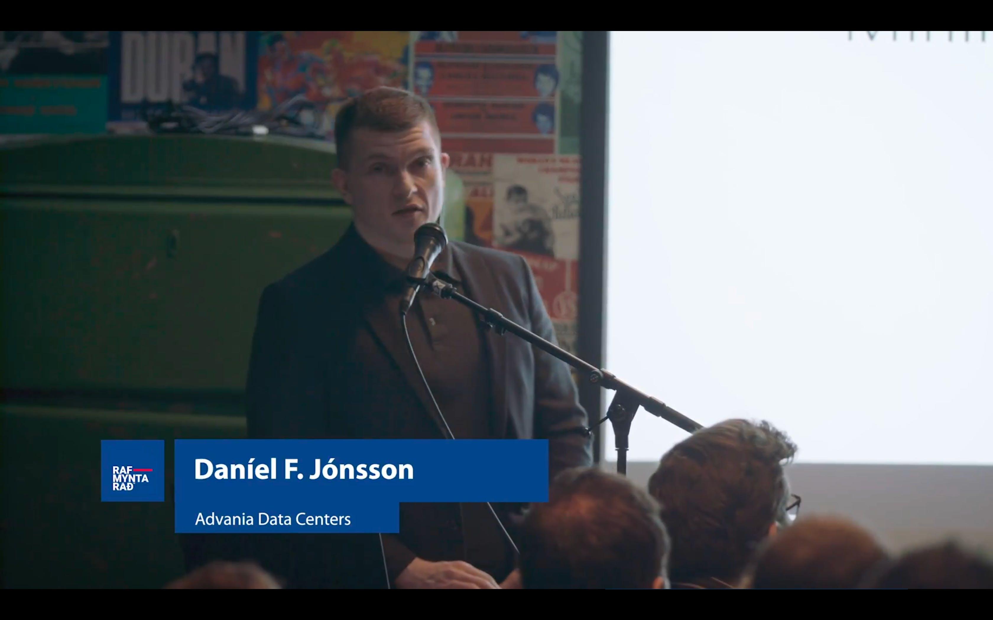 Námuvinnsla rafmynta á Íslandi - Daníel F. Jónsson