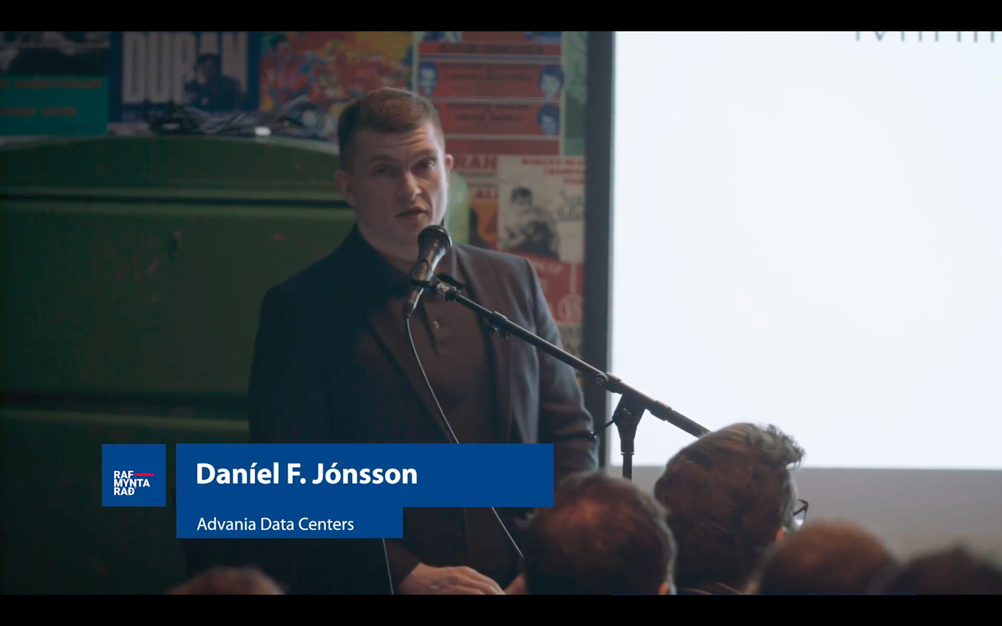 Mining Cryptocurrencies in Iceland - Daníel F. Jónsson