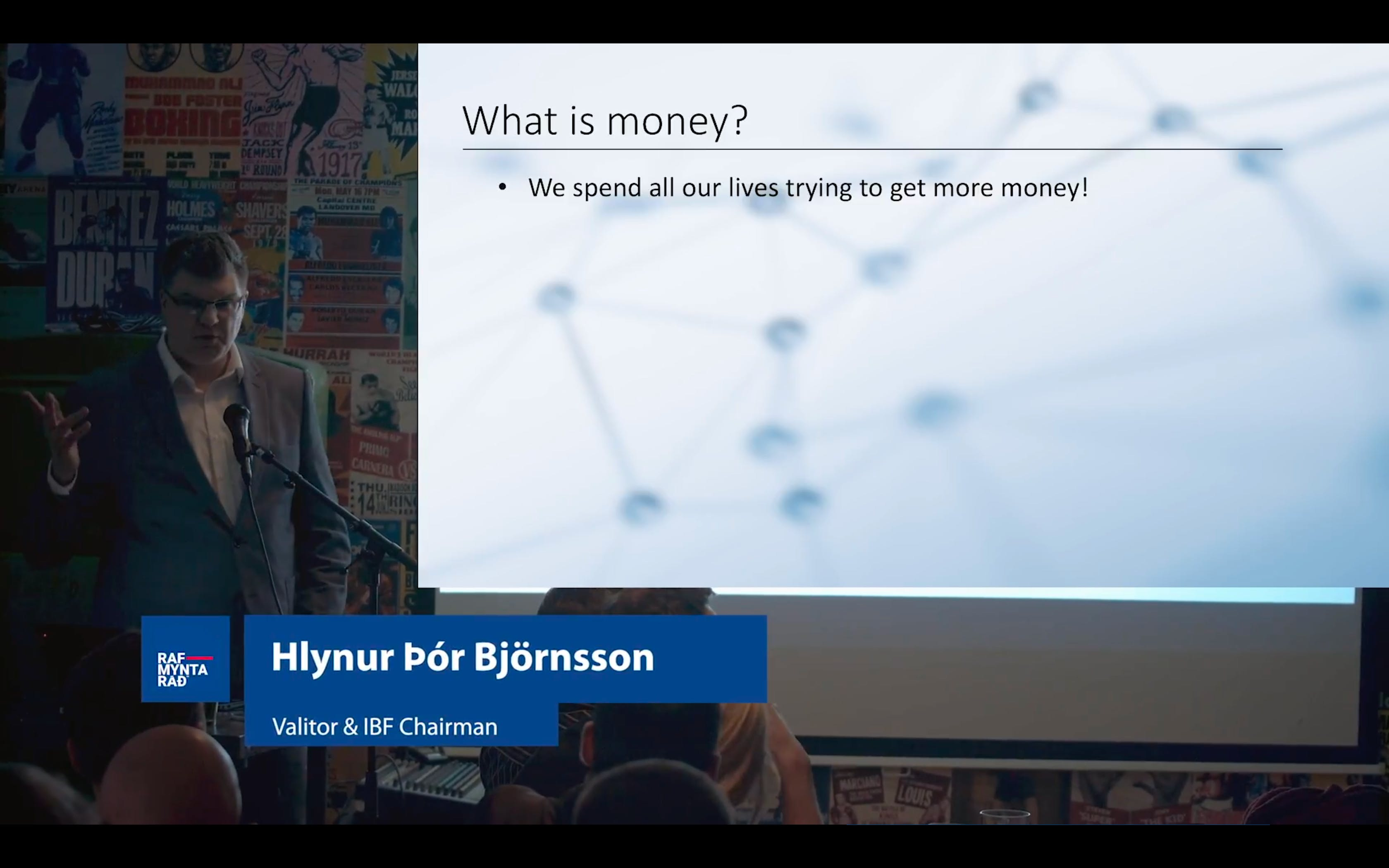 What is money? - Hlynur Þór Björnsson