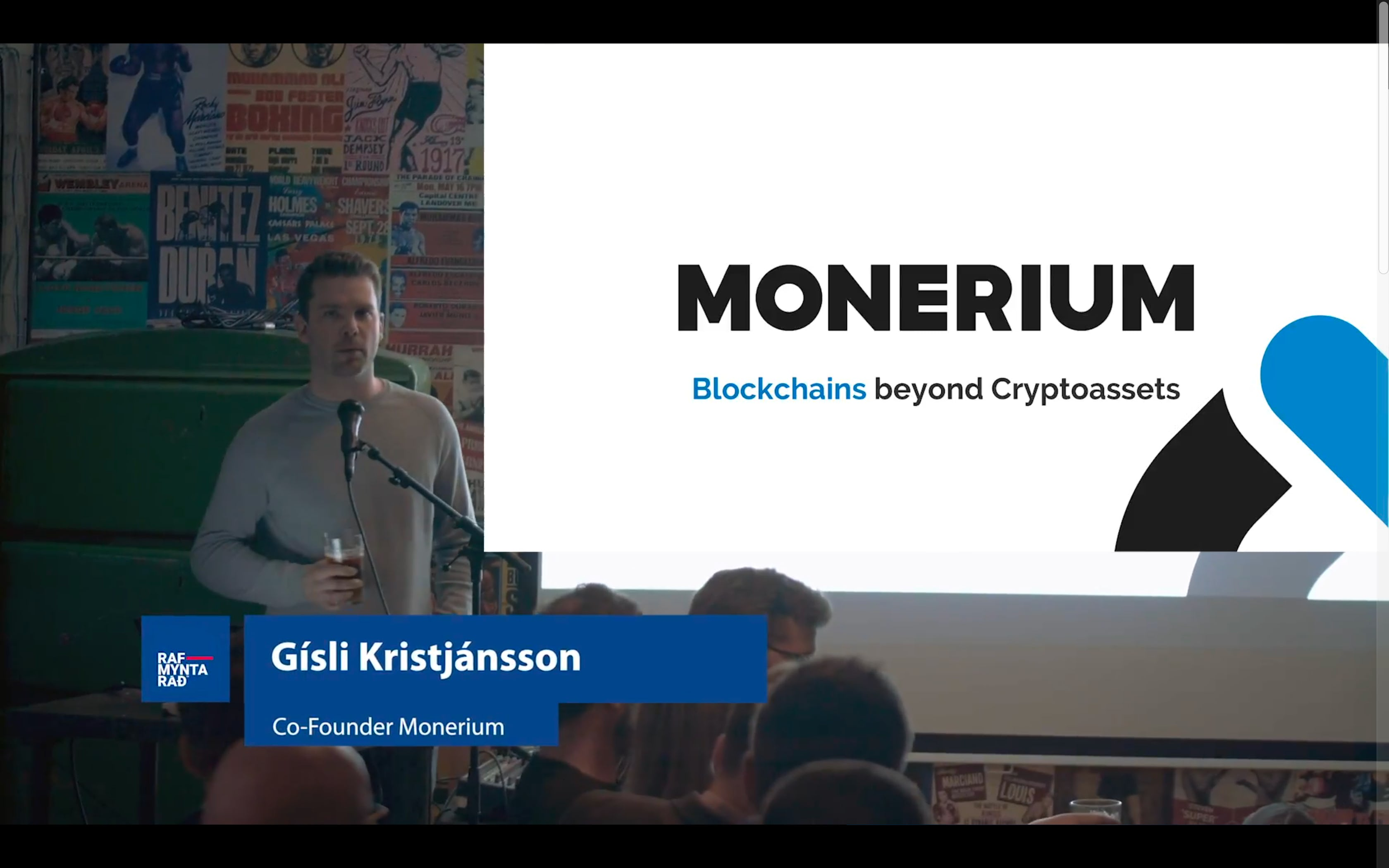 Blockchains Beyond Cryptoassets - Gisli Kristjansson