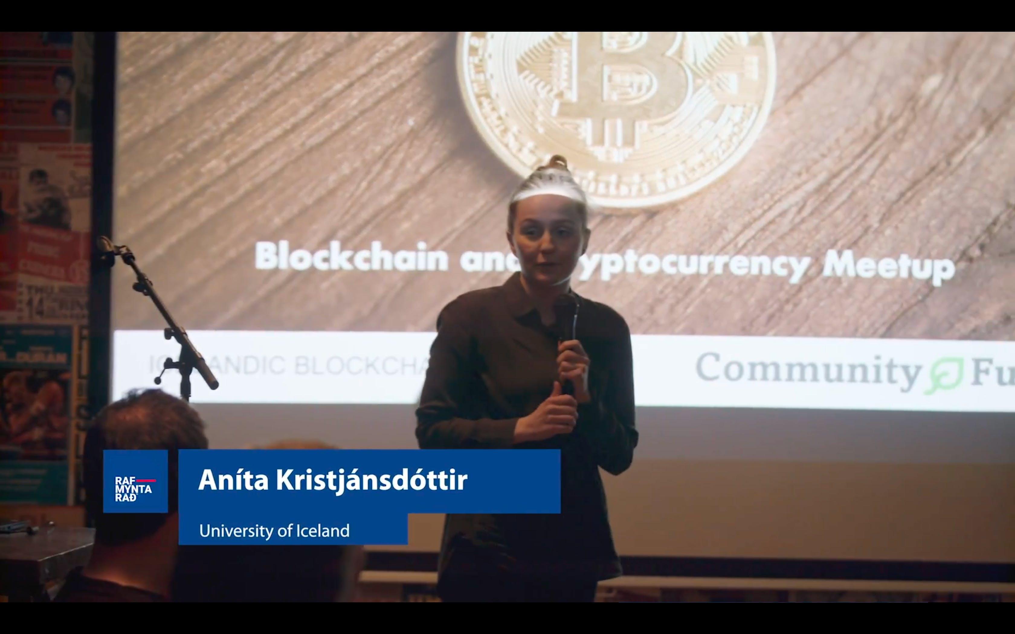 Blockchain in Education - Aníta Kristjánsdóttir