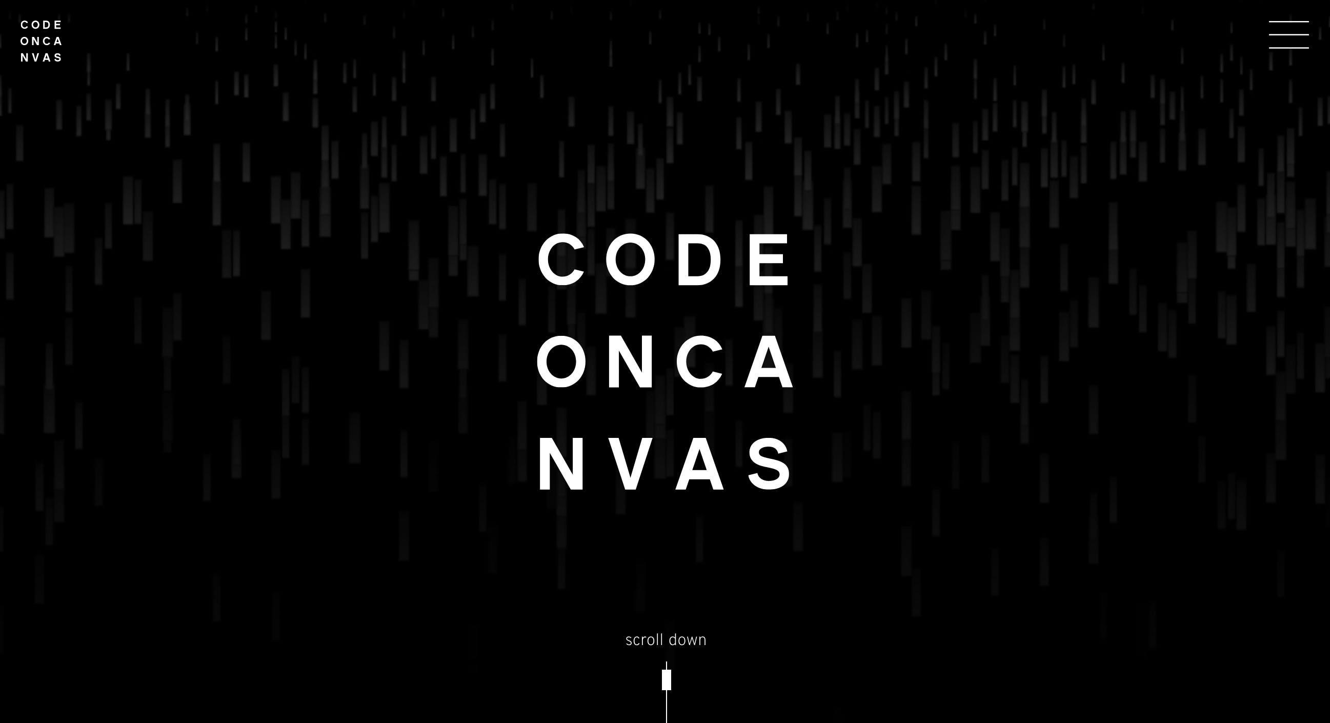 Code on Canvas home page