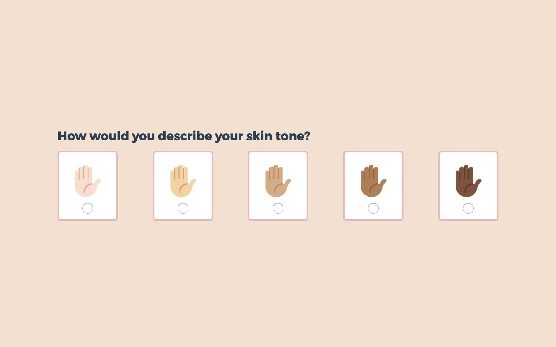 raviemma - skin tone prompt