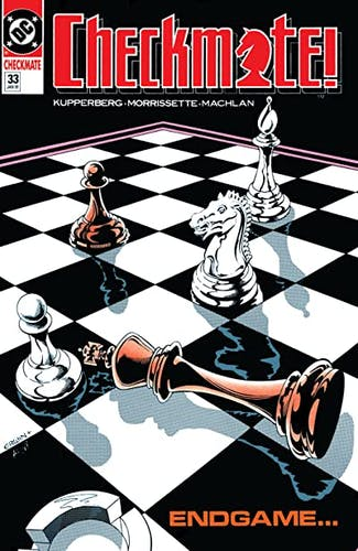 Checkmate Cover-Art by Randy Duburke