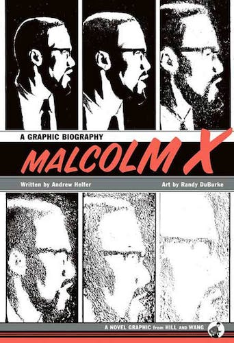 Malcom X Cover-Art by Randy Duburke