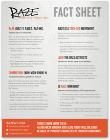 Raze Fact Sheet