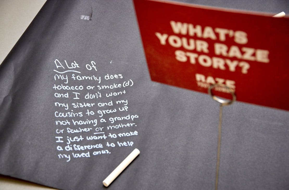 what is your raze story?