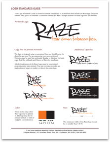 Raze Logo Standards Guide
