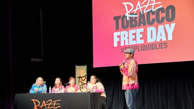 Raze Tobacco Free Day Panel