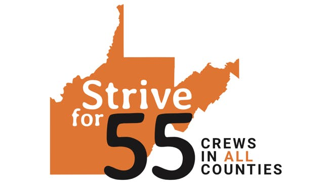 Strive for 55 - Crews in all counties