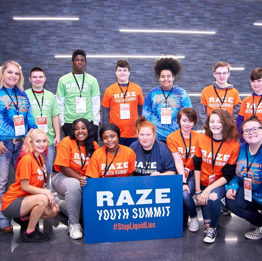 Raze Youth Summit Teenagers
