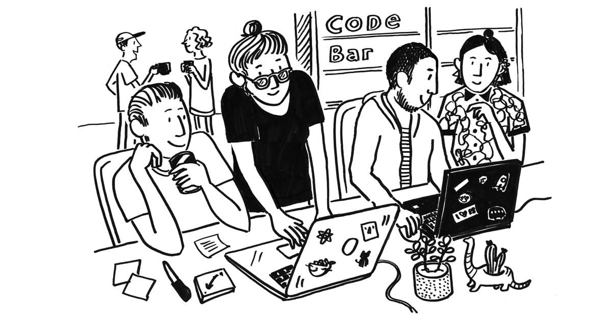 Code Bar at Red Badger