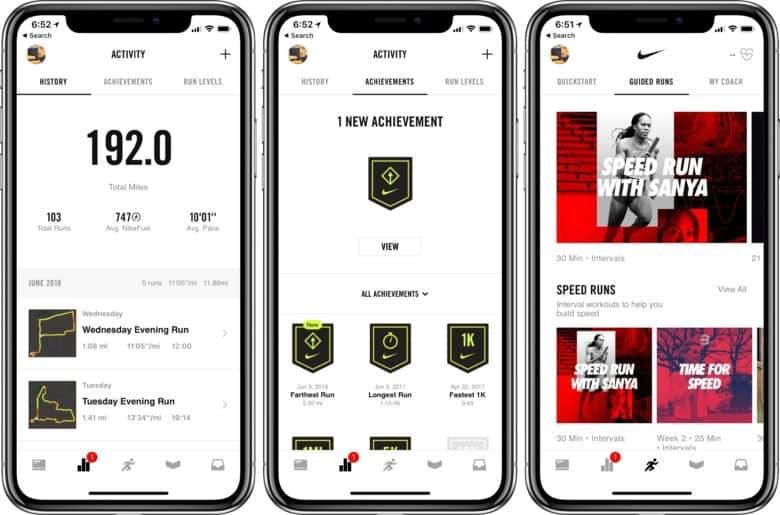 Gamification voorbeeld: Nike+ Run Club