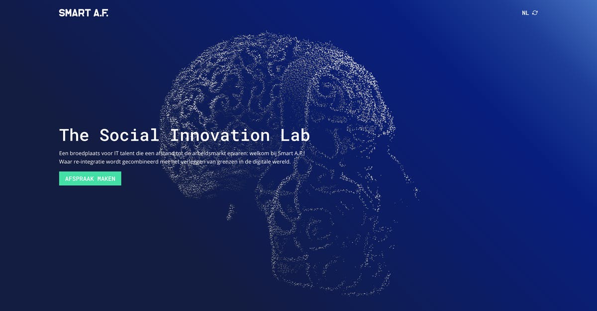 Smart AF website The Social Innovation Lab