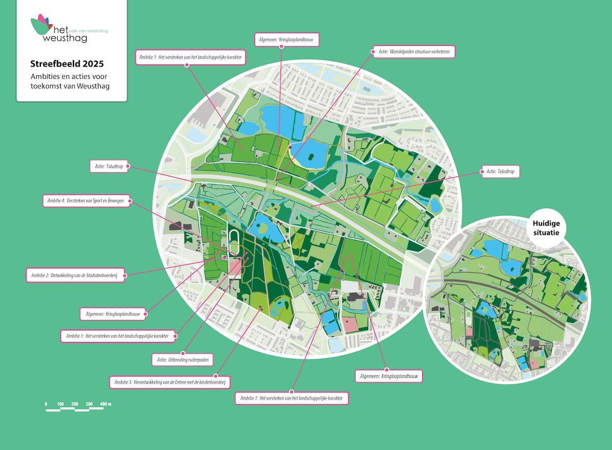 streefbeeld 2025 het weusthag park