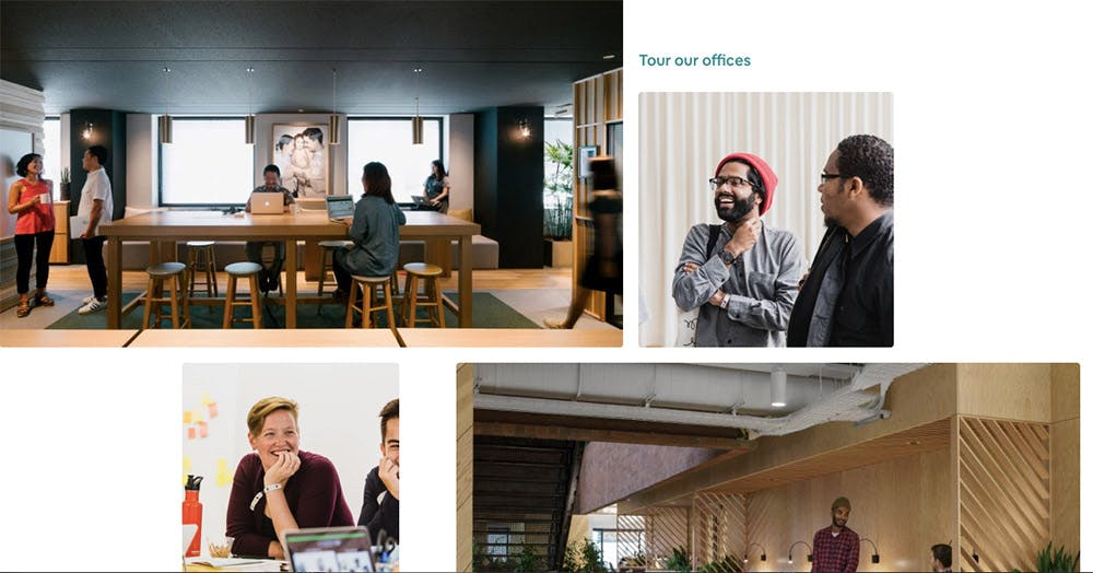 Employer branding example: Airbnb