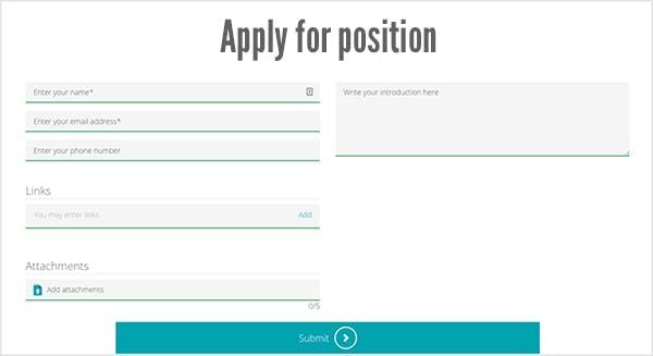Gör det enkelt för era framtida anställda att ansöka
