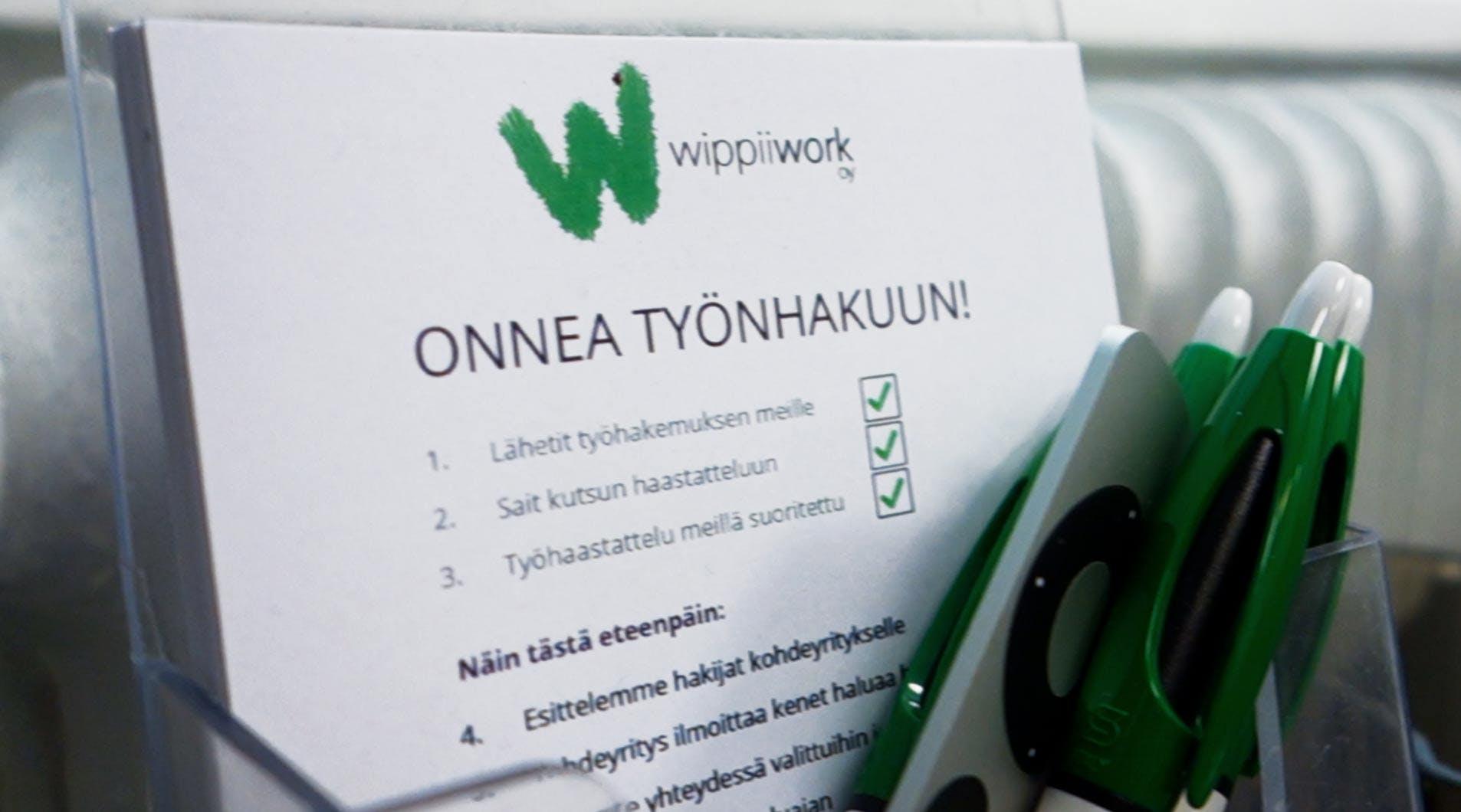 Wippi Work: Onnea työnhakuun!