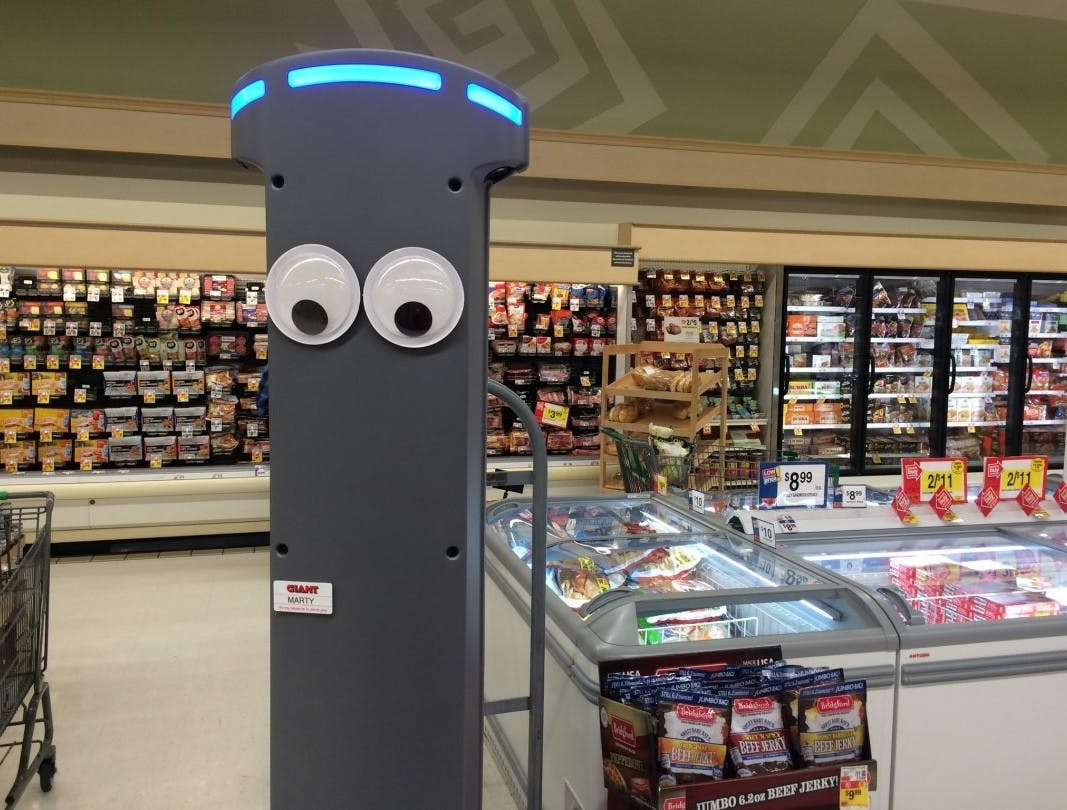 Ahold Delhaize has deployed nearly 500 robots to identify hazards in-store