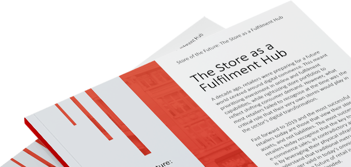 Download the free whitepaper Store of the Future: The Store as a Fulfilment Hub