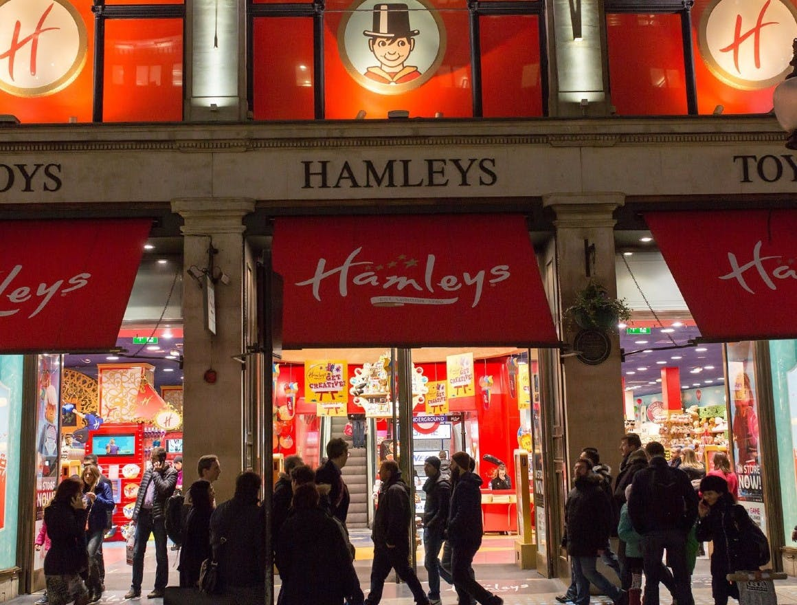 Hamleys is focusing on the in-store experience to overcome its economic challenges