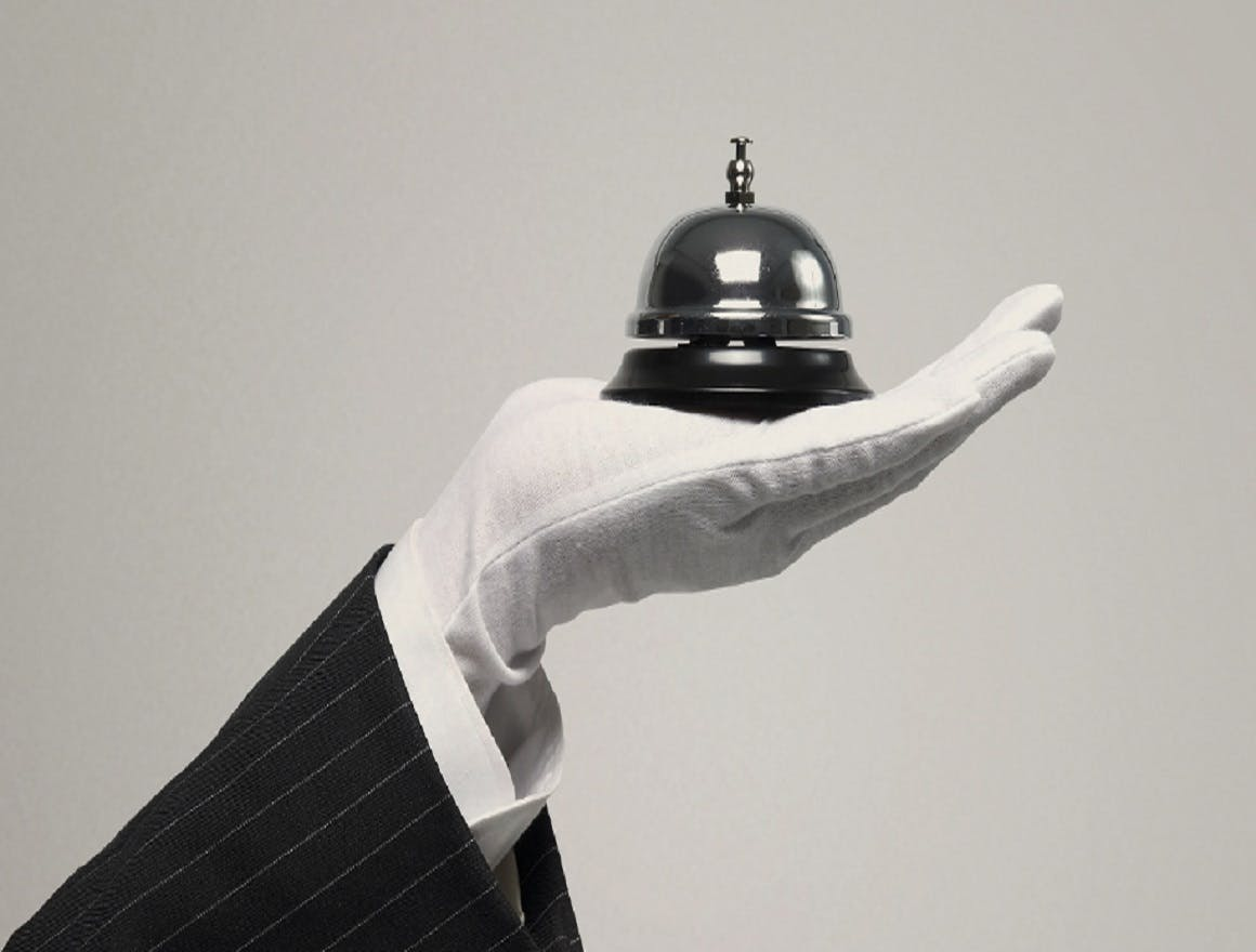 Delivering a white glove experience with contactless concierge services