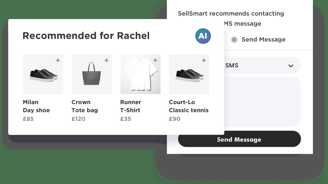 RetailOS smart recommendations