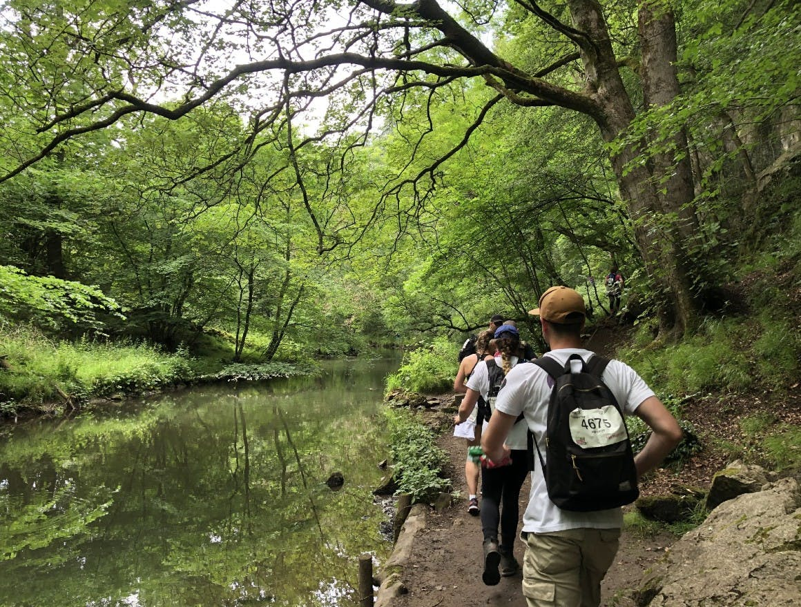Team PhilANThropy walked 50km across the Peak District to fundraise for PAPYRUS - Preventing Young Suicide