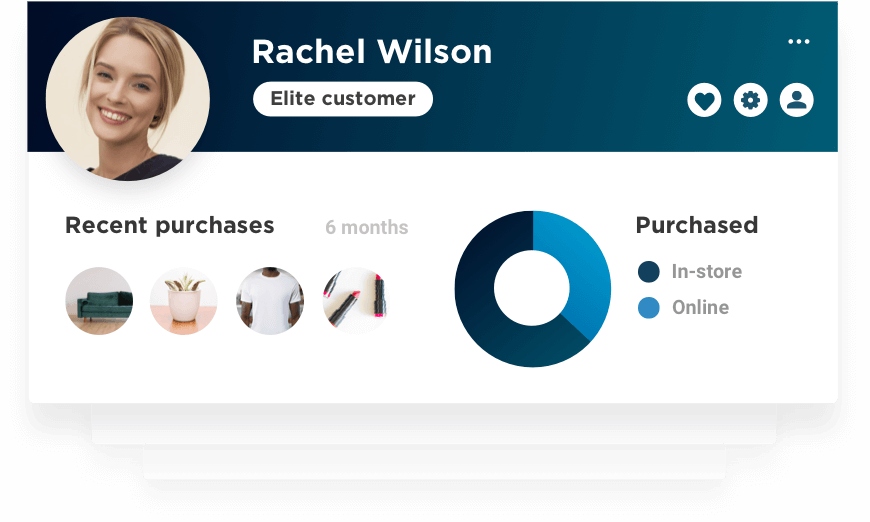 RetailOS customer dashboard