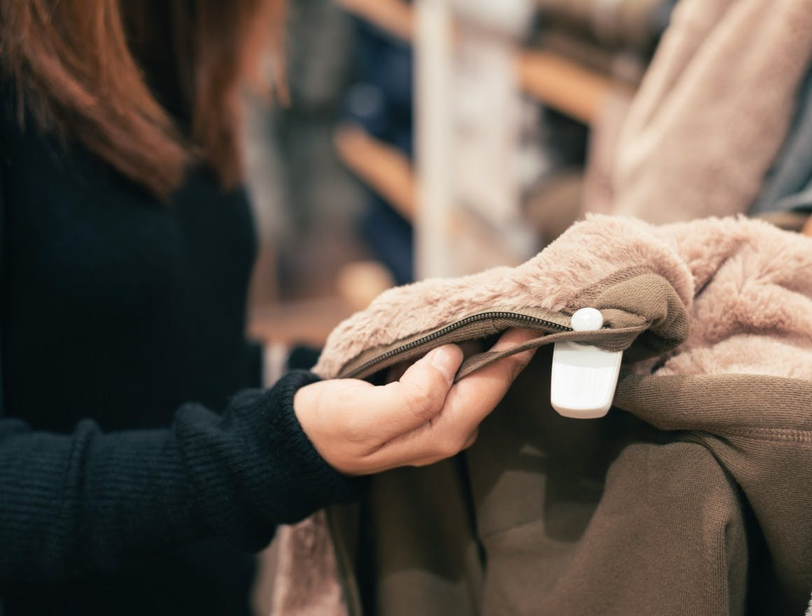Customers visit physical stores so they can see, feel and smell what they're buying