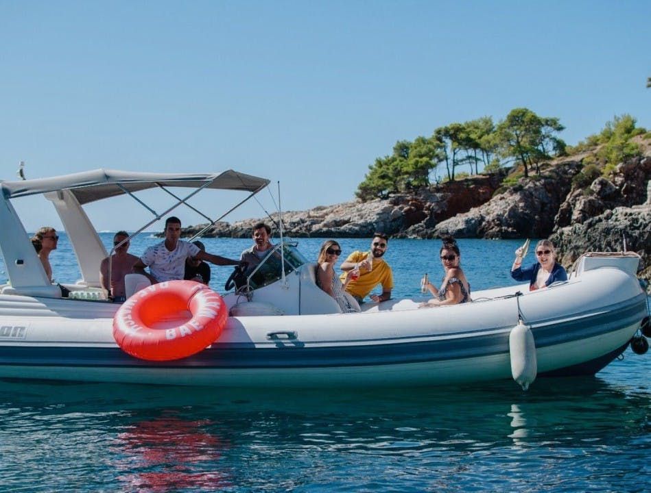 Celebrating 20 years of Red Ant with sun, sea, sand and speedboats