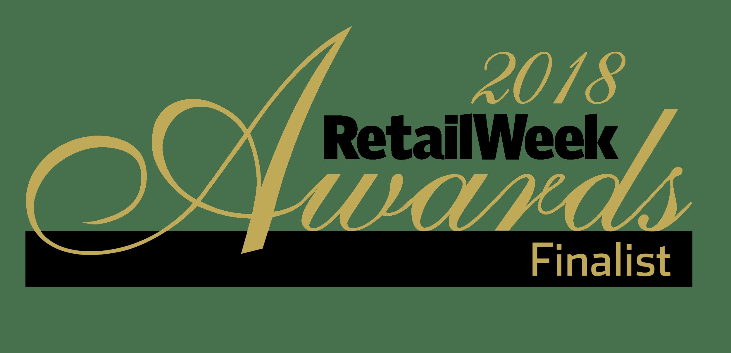 Retail Week awards finalist logo