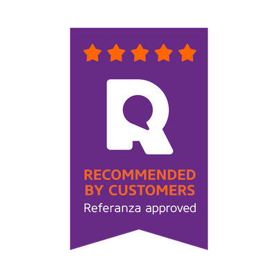 Recommended by Customers 5 stars badge