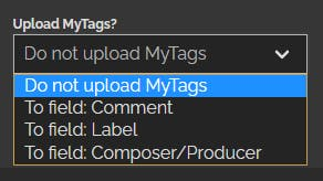 MyTags support in rekordcloud