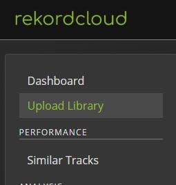 Rekordcloud upload library