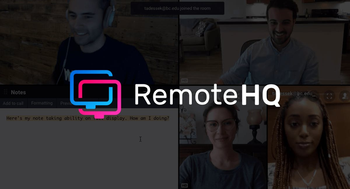 RemoteHQ - Collaboration, simplified.