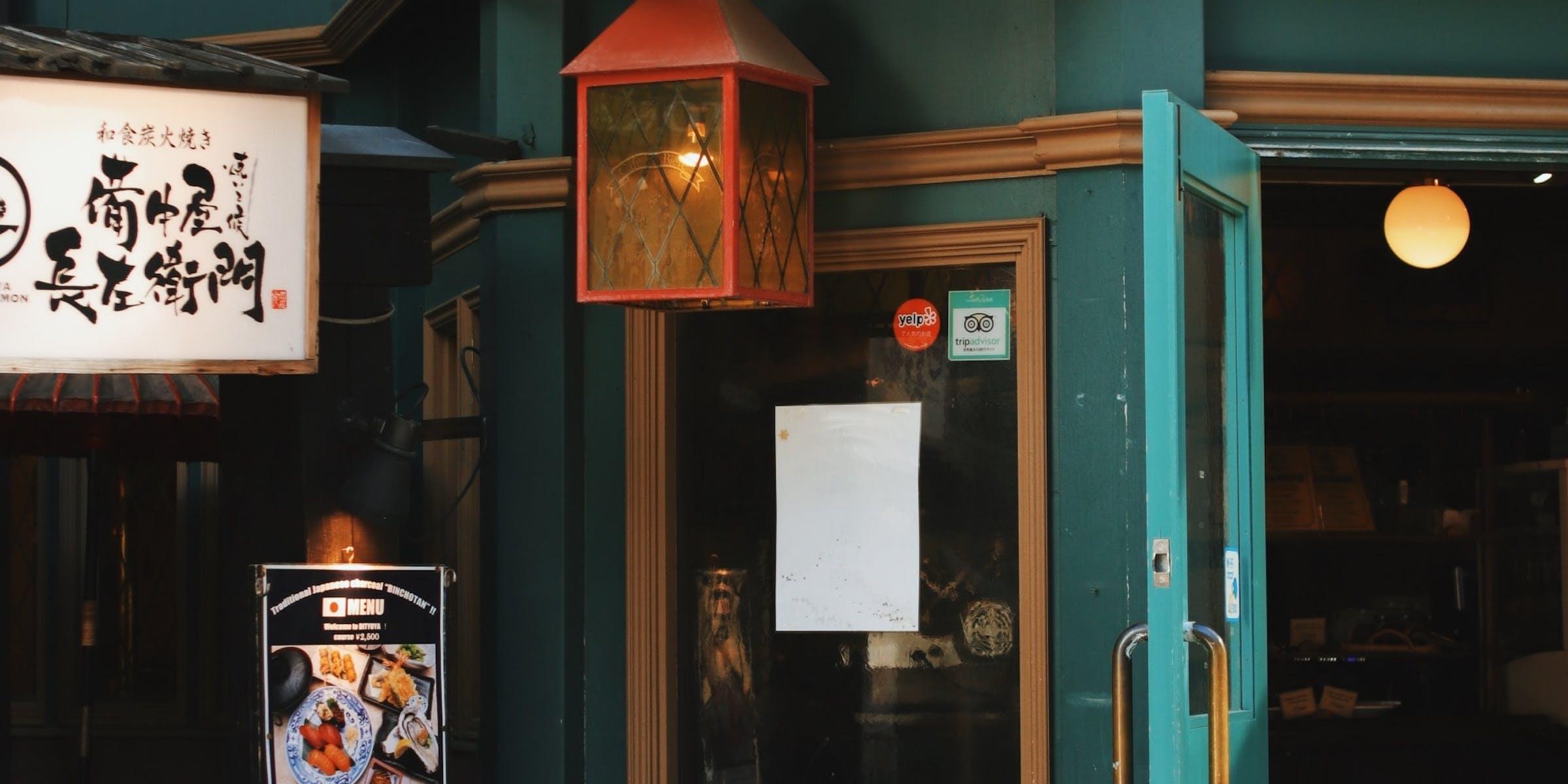 Цифровые вывески на ресторанах