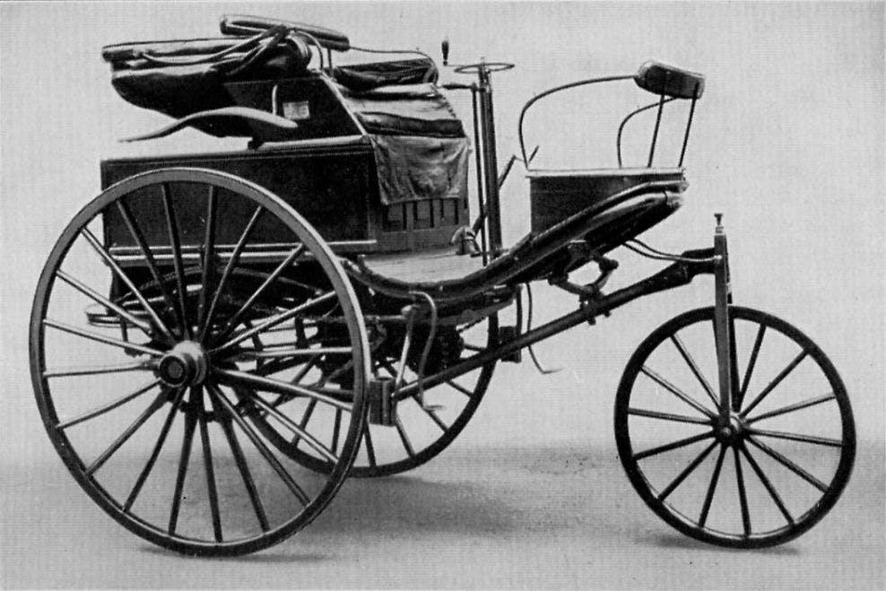 Der erste Serienwagen der Geschichte