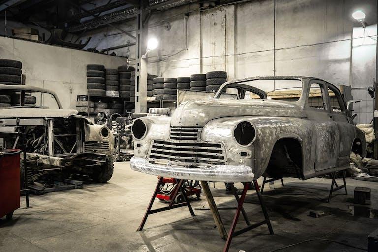 Die Karosserie macht das Auto zu dem, was du siehst und verleiht einen ganz eigenen Charakter.