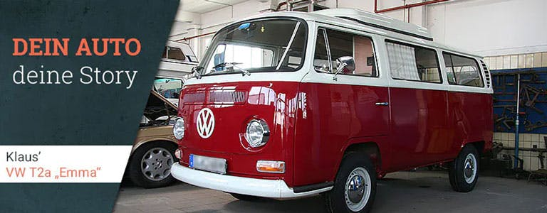Klaus' VW T2a Emma