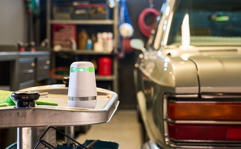 Bosch spexor in der Garage