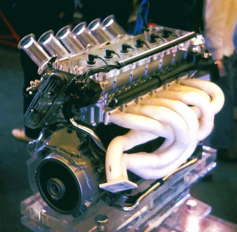 BMW M1 Motor, teilweise Plexiglas für Ausstellungszwecke
