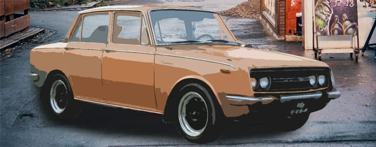 Toyota Corona: Ein Fahrzeug geht viral