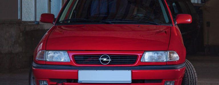 Opel Astra F nun im Club der Oldies