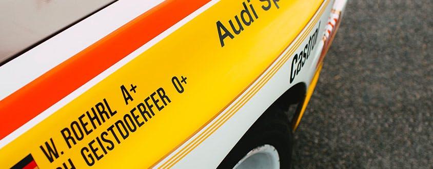 """Der Audi """"Ur-quattro"""" – Eine revolutionäre Idee"""