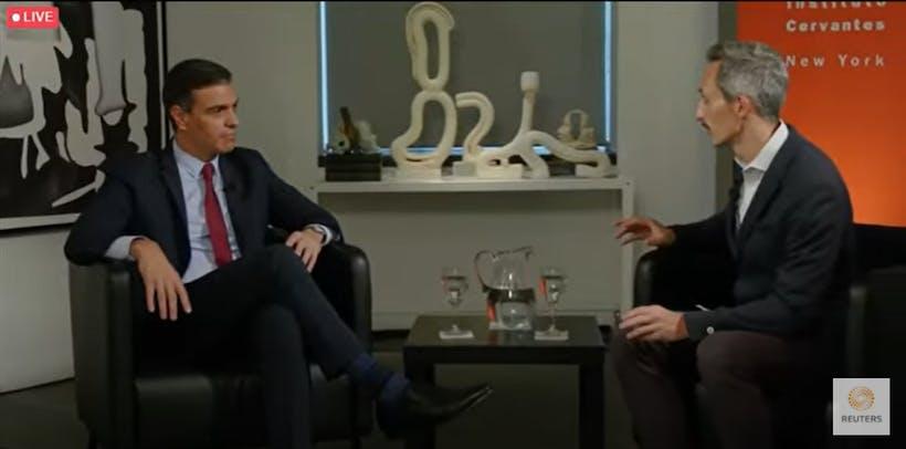Reuters Next Newsmaker with Pedro Sánchez