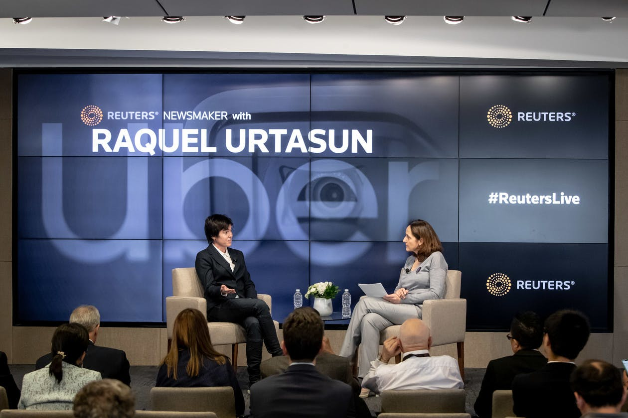 Reuters Newsmaker with Raquel Urtasun, Chief Scientist & Head of Advanced Technology Group - Toronto, Uber