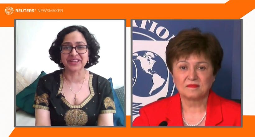 Reuters Newsmaker with Kristalina Georgieva